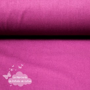 Tissu coton cardinal