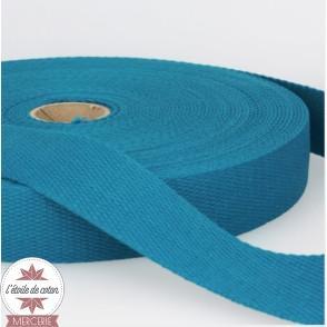Sangle coton 30 mm - bleu marine