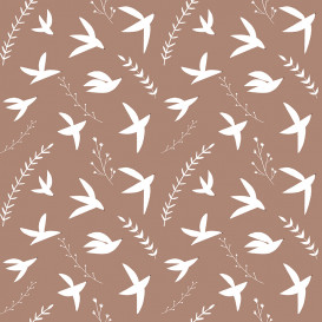 Tissu coton Birds in Flight by RJR