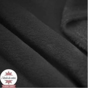 Tissu polaire doudou - gris