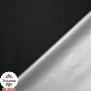 Tissu doublure thermique noir