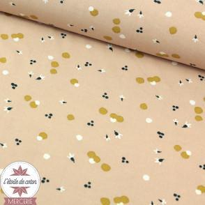 Tissu viscose Nozbi skin/nuit - Oeko-Tex