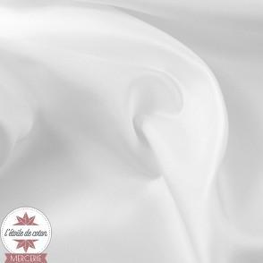 Tissu doublure anti-statique - blanc