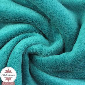 Tissu polaire doudou - canard