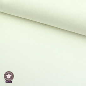 Sweat BIO léger bouclettes - ivoire - Oeko-Tex