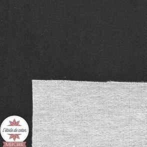 Tissu velours ras d'ameublement - Tatoo noir