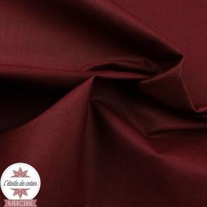 Coton enduit uni noir - Oeko-Tex