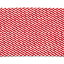 Sangle réversible - rayures rouge, blanc