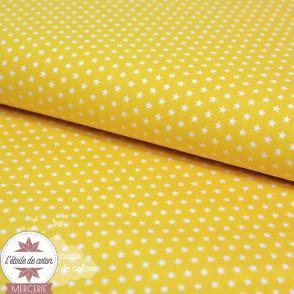 Mini étoiles - jaune